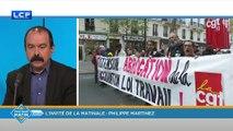 """Philippe Martinez : si la cote de popularité de Macron remonte, c'est parce """"qu'il fait ce qu'il a dit"""""""