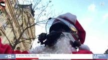 A Paris, le père Noël poursuit une chauffard - ZAPPING ACTU HEBDO DU 23/12/2017