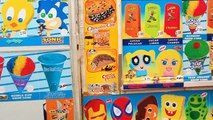 The Many Releases of The Sonic The Hedgehog Ice Cream Bar w/ Gumball Eyes