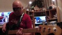 Jamming with David Ovejero JazzFunk in F Trainning HD720 m2 Bassline Bob Roha