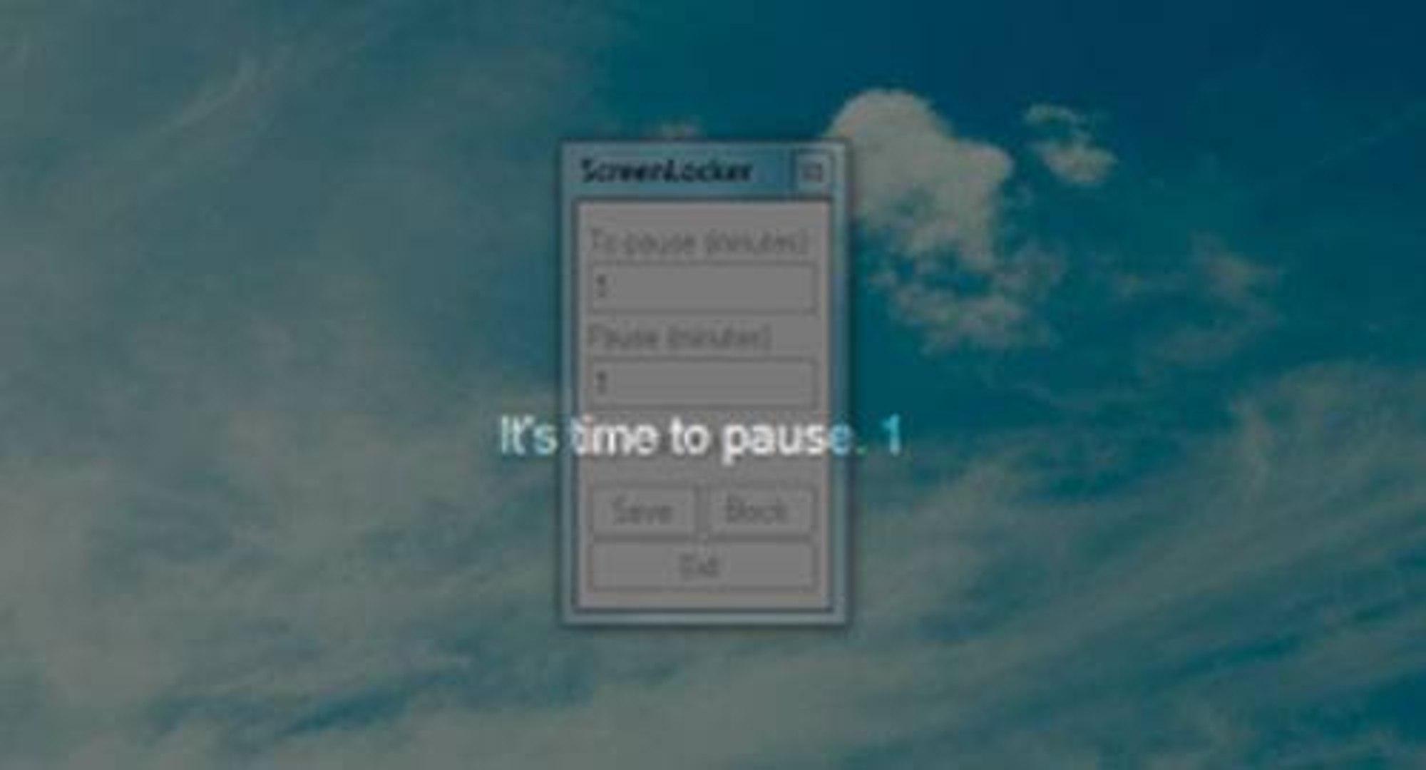 Para workaholics: software te obriga a fazer uma pausa no período estipulado