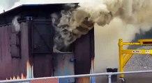 Funny Video: Fire Backdraft Hadouken