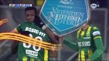 1-0 Erik Falkenburg Goa Holland  Eredivisie - 22.12.2017 ADO Den Haag 1-0 PEC Zwolle