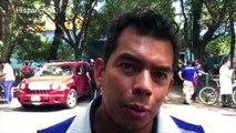 """Vivimos el terremoto y conocimos al """"boleador"""" más famoso de México"""
