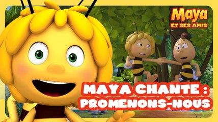 Maya l'abeille chante promenons-nous