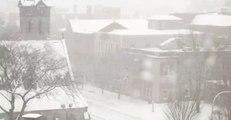 Snow Blankets Upstate New York