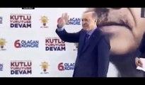 Erdoğan'a sarılmaya çalışan vatandaş ortalığı karıştırdı