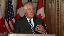 U.S. Secretary of State Rex Tillerson visits Canada