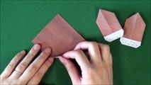 Origami 'Acorn' 折り紙「どんぐり」折り方-y1QzTvKYj1U