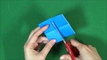 Origami 'Book' 折り紙「本」の折り方-4G5HKKzUqVc