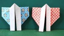 Origami 'Happi' 折り紙「法被」折り方-FWmS1yEf_aU