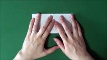 Origami 'Mikoshi' 折り紙「みこし」折り方-EU8jcZ1dAa0