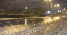 Meteoroloji Günler Öncesinden Uyarmıştı! İstanbul'da Yüksek Kesimlerde Kar Yağışı Başladı