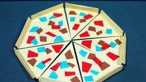 折り紙「ピザ」の折り方Origami 'Pizza'-tioOjjcjphk