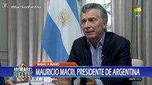 """Mauricio Macri en """"Animales sueltos"""" de Alejandro Fantino - 22/12/17"""