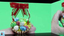 DIY Easter Decorations - How to Make Mini Easter Basket With Eggs _ Recycled Bottles Crafts Udeas-QLWMBUByRHM