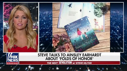 Ainsley Earhardt on Folds of Honor and her new book