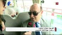 مهاب مميش يكشف عن مشاريع الرئيس السيسي لقناة السويس