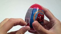 Amazing Surprise Egg Spiderman Candies Surprise Egg Unwrapping Marvel collection - Kidstvsongs toy , Cartoons animated movies 2018