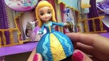 Disney Princess Sofia The First Dolls Dancing Sisters Set Hermanas Bailarinas Magnet Dolls Toys , Cartoons animated movies 2018
