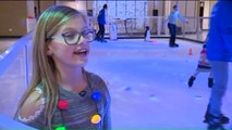 Father of Ice Hockey Players Invents Ice Skating Rink Without Ice