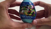 Unboxing Mickey Mouse Clubhouse Surprise Egg for Kinder!!! , Cartoons animated movies 2018