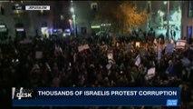 i24NEWS DESK | Thousands of Israelis protest corruption | Saturday, December 23rd 2017