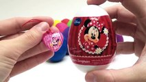 Minnie Mouse Play Doh Eggs Minnie Mouse Peppa Pig Lego Cars 2 Mickey Mouse Spider-Man Surprise Eggs , Cartoons animated movies 2018