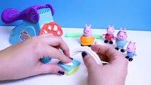 Peppa Pig Play Doh Fun Factory Machine Peppa's Dough Set Hasbro Toys Juguetes de Plastilina , Cartoons animated movies 2018