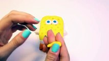 Play Doh Spongebob Squarepants Playset Mold SpongeBob Nickelodeon Playdough Bob Esponja Plastilina , Cartoons animated movies 2018
