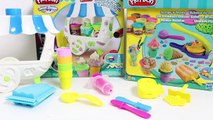 Play Doh Scoops 'n Treats DIY Ice Cream Cones Popsicles Sundaes Waffles Desserts Play Doh Ice Cream , Cartoons animated movies 2018