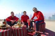 Moments de détente au Qatar pour les joueurs parisiens
