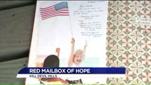 Red Mailbox on North Carolina Beach Gives Hope to Those in Need