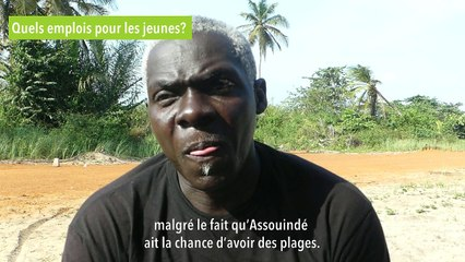Ehui Niamke, président de l'association des jeunes d'Assouindé [INTERVIEW GREEN PROJECT AFRICA]