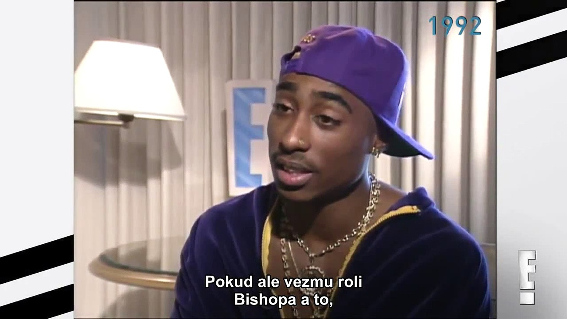 (RARE) Tupac Interview With E! News. 1992 czech subtitles www.tupac-cz.cz