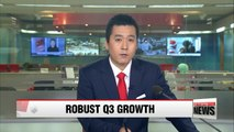 S. Korea logs fastest on-quarter GDP growth in Q3 in G20