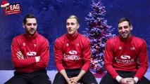 Supporters de l'EAG, nous vous souhaitons un Joyeux Noël ! Aujourd'hui, les joueurs de l'EAG vous racontent leurs pl