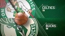 BOSTON CELTICS VS MILWAUKEE BUCKS # PARTE 01 - JOGO COMPLETO DA NBA - 18/10/17