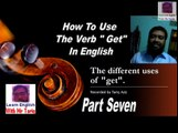 Learn English vocabulary Through Urdu - Learn how to use get Lesson # 7
