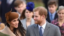 Meghan Markle and Prince Harry join royals at church