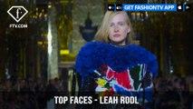Leah Rodl Top Faces German-American Fashion Model Spring 2018 | FashionTV | FTV