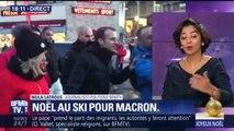 [Actualité] Emmanuel Macron passe Noël dans la station de La Mongie (Hautes-Pyrénées)
