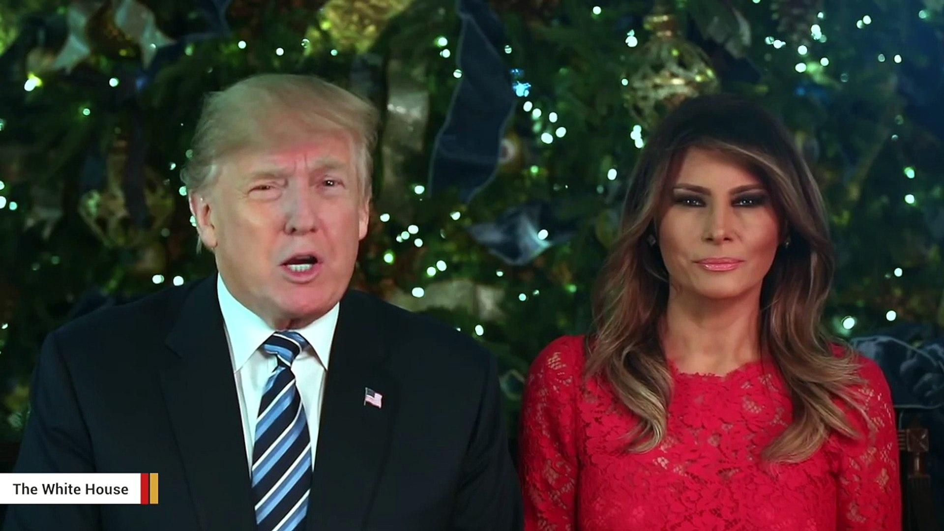 Melania Trump Shares Christmas Selfie On Twitter