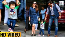 Taimur Ali Khan's First WALK Video With Kareena & Saif Ali Khan