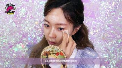 세상블링! 홀리데이 엔젤 메이크업 (ft.청순 글리터) Holiday Angel Make-up | Heizle