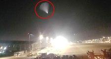 İstanbul Semalarında Görülen Işık Hüzmesi, Sosyal Medyada UFO Paniği Yarattı