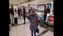 Hollanda'da köpekli aramaya Atatürk Havalimanı'nda böyle karşılık verildi