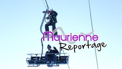 Maurienne Reportage # 107 Exercice d'évacuation de télésiège