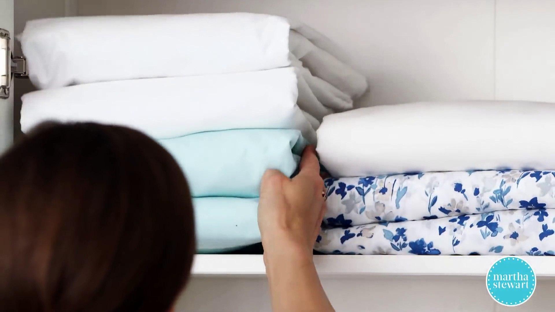 How To Organize A Linen Closet Martha Stewart F Kohb47 Dq
