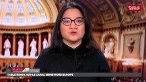 Table ronde sur le Canal Seine-Nord Europe - Les matins du Sénat (26/12/2017)